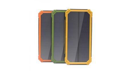 Power bank Solar 30000 mAh на солнечной батарее