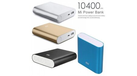Power bank Xiaomi Mi 10400 mAh для зарядки телефона
