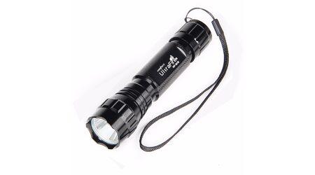 Светодиодный фонарь аккумуляторный UltraFire WF 501B (Cree XML T6) 900 люмен