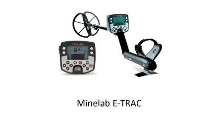 Металлоискатель Minelab - E-Trac (Pro)