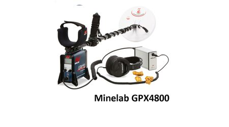 Металлоискатель Minelab - GPX 4800