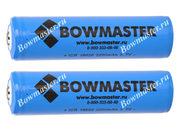 Литий-ионный аккумулятор с защитой BowMaster 18650 2400 mAh (2 шт.)