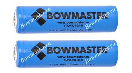купите Литий-ионный аккумулятор с защитой BowMaster 18650 2400 mAh (2 шт.) в Москве