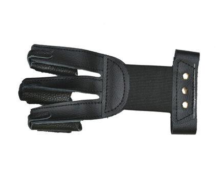 Купите перчатку кожаную JX502 черная для стрельбы из лука размер M в интернет-магазине