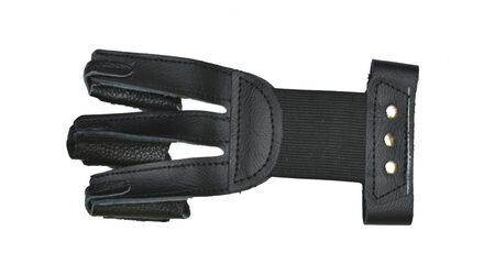 купите Перчатка кожаная JX502 черная для стрельбы из лука размер M в Москве