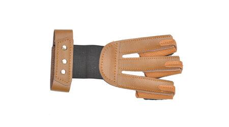 купите Перчатка кожаная JX502 коричневая для стрельбы из лука размер L в Москве