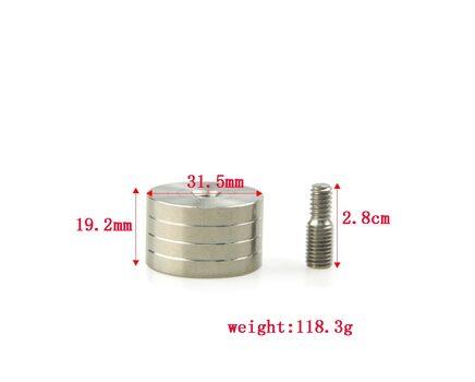 Купите грузик 116 грамм Bowmaster PR617 для карбоновых стабилизаторов в интернет-магазине