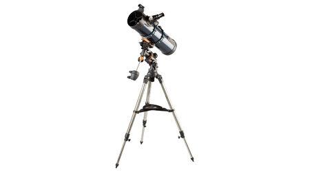 купите Светосильный телескоп Celestron AstroMaster 130 EQ-MD (рефлектор Ньютона, 130мм, F=650мм, 1:5) на экваториальной монтировке в Москве