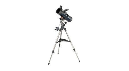 купите Телескоп Celestron AstroMaster 114 EQ (рефлектор Ньютона, 114 мм, F=1000 мм, 1:9) на экваториальной монтировке в Москве