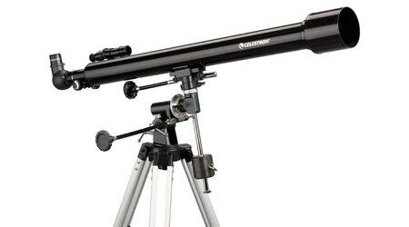 купите Телескоп Celestron PowerSeeker 60 EQ (рефрактор, 60мм, F=900мм, 1:11.7) на экваториальной монтировке в Москве