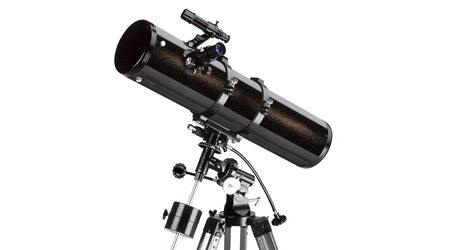 купите Телескоп Levenhuk Skyline 130x900 EQ для дальнего космоса (рефлектор Ньютона, 130мм, F=900мм, 1:6.9) на экваториальной монтировке в Москве