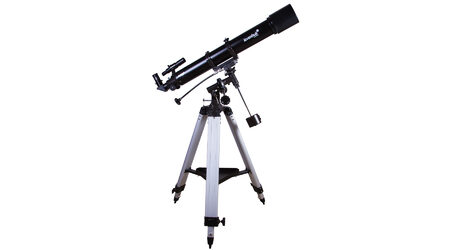 купите Зеркальный телескоп Levenhuk Skyline 90x900 EQ (рефрактор, 90мм, F=900мм, 1:10) на экваториальной монтировке в Москве