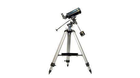 купите Зеркально-линзовый телескоп Levenhuk Skyline PRO 105 MAK (рефлектор Максутова-Кассегрена, 102мм, F=1300мм, 1:12.8) на экваториальной монтировке в Москве