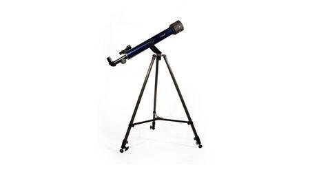 купите Телескоп Levenhuk Strike 60 NG для начинающих и любителей (рефрактор, 60мм, F=700мм, 1:11.7) на азимутальной монтировке в Москве