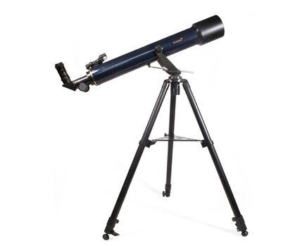 Купите детский телескоп Levenhuk Strike 80 NG (рефрактор, 80мм, F=720мм, 1:9) на азимутальной монтировке в интернет-магазине