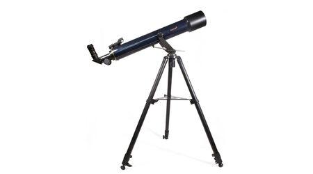 купите Детский телескоп Levenhuk Strike 80 NG (рефрактор, 80мм, F=720мм, 1:9) на азимутальной монтировке в Москве