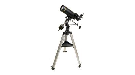 купите Зеркально-линзовый телескоп Levenhuk Skyline PRO 80 MAK (рефлектор Максутова-Кассегрена, 80мм, F=1000мм, 1:12.5) на экваториальной монтировке в Москве