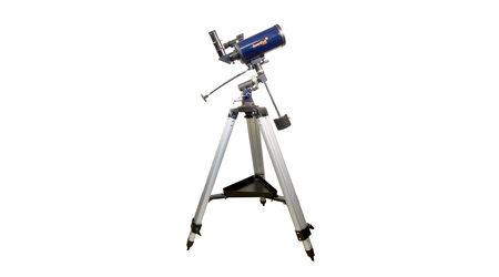 купите Зеркально-линзовый телескоп Levenhuk Strike 950 PRO (рефлектор Максутова-Кассегрена, 90мм, F=1250мм, 1:13.9) на экваториальной монтировке в Москве