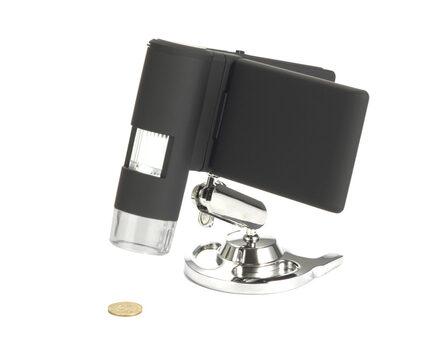 Купите цифровой портативный USB микроскоп-камеру Levenhuk DTX 500 Mobi в интернет-магазине