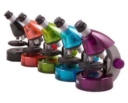 Купите детский микроскоп Levenhuk LabZZ M101 для школьников в интернет-магазине