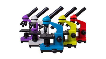 купите Школьный микроскоп Levenhuk Rainbow 2L цвета в ассортименте в Москве