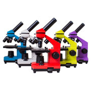 Школьный лабораторный микроскоп Levenhuk Rainbow 2L PLUS