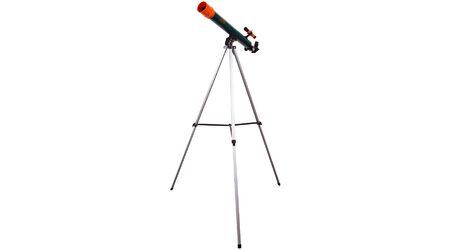 купите Детский телескоп Levenhuk LabZZ T2 для наблюдения планет (рефрактор, 50мм, F=600мм, 1:12) на азимутальной монтировке в Москве