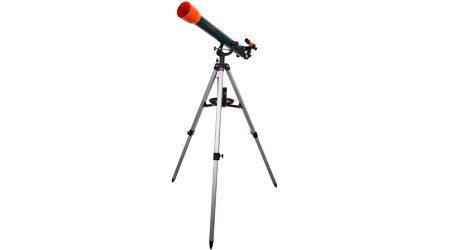 купите Мощный детский телескоп Levenhuk LabZZ T3 (рефрактор, 60мм, F=700мм, 1:11.7) на азимутальной монтировке в Москве