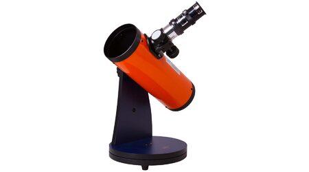 купите Детский телескоп Levenhuk LabZZ D1 (рефлектор Ньютона, 76мм, F=300мм, 1:3.95) на монтировке Добсона в Москве