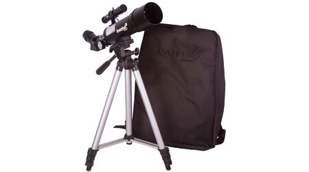 купите Телескоп Levenhuk Skyline Travel 50 для начинающих (рефрактор, 50мм, F=360мм, 1:7.2) на азимутальной монтировке в Москве