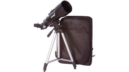 купите Телескоп Levenhuk Skyline Travel 70 для любителей астрономии (рефрактор, 70мм, F=400мм, 1:5.7) на азимутальной монтировке в Москве