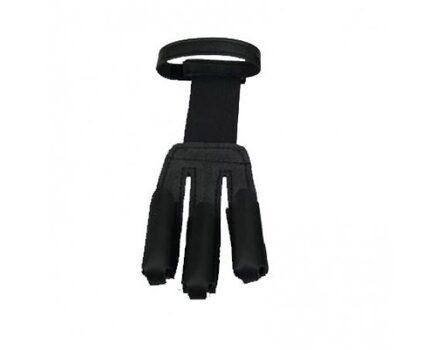 Купите перчатку замшевая Ерка черная для стрельбы из лука в интернет-магазине