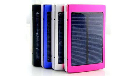 купите Power bank Solar 5000 mAh на солнечной батарее в Москве