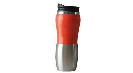 купите Термокружка Stinger HY-AM642-O серебристый/оранжевый  0,4 л в Москве