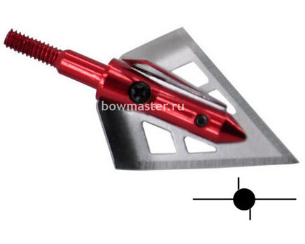 Купите охотничий наконечник TP239 фиксированный (100 гран, 2+2 лезвия) в интернет-магазине