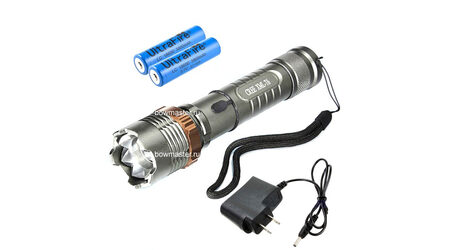 купите Светодиодный фонарь аккумуляторный UltraFire 501 (Cree XML T6) 700 люмен в Москве