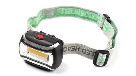 купите Светодиодный налобный фонарь UltraFire Flat LED 3W в Москве