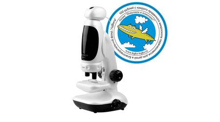 купите Детский цифровой USB - микроскоп EVA с подключением к компьютеру в Москве