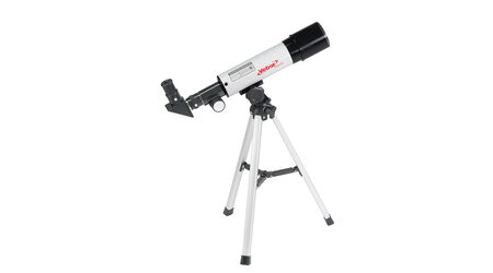 купите Телескоп Veber 360/50 AZ в кейсе (рефрактор, 50мм, F=360мм, 1:7.2) на азимутальной монтировке в Москве