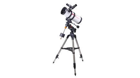 купите Телескоп Veber PolarStar 1000/114 EQ (рефлектор Ньютона, 114мм, F=1000мм, 1:8.77) на экваториальной монтировке в Москве