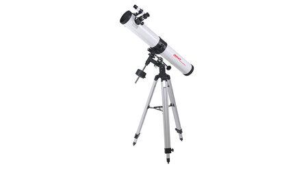 купите Телескоп Veber PolarStar 900/76 EQ (рефлектор Ньютона, 76мм, F=900мм, 1:11.8) на экваториальной монтировке в Москве