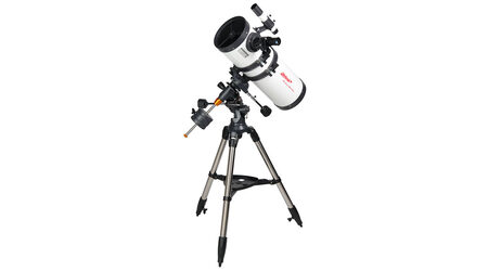 купите Телескоп Veber PolarStar 1400/150 EQ (рефлектор Ньютона, 150мм, F=1400мм, 1:6.6) на экваториальной монтировке в Москве