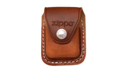 купите Чехол для зажигалки Zippo LPCB с петлей коричневый в Москве