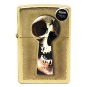 Бензиновая зажигалка Zippo 28540 Keyhole Skull