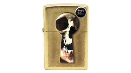 купите Бензиновая зажигалка Zippo 28540 Keyhole Skull в Москве