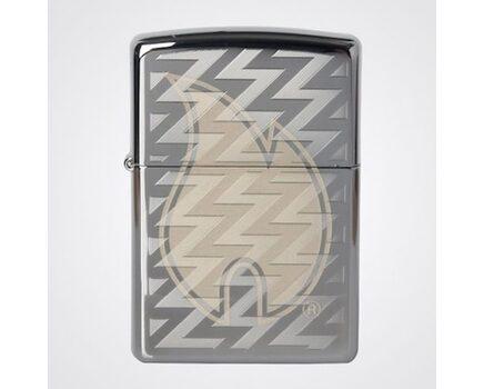 Купите зажигалку Zippo 28811 Z Tread Flame High Polish Chrome (зеркальный хром, гравировка пламени Зиппо и волн) в интернет-магазине