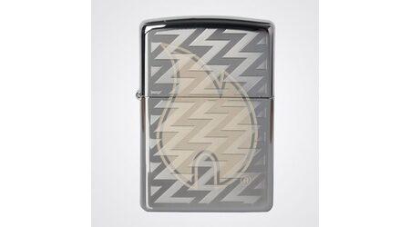 купите Зажигалка Zippo 28811 Z Tread Flame High Polish Chrome (зеркальный хром, гравировка пламени Зиппо и волн) в Москве
