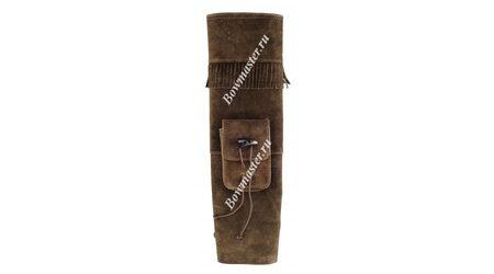 купите Колчан для стрел заплечный темно-коричневый в Москве
