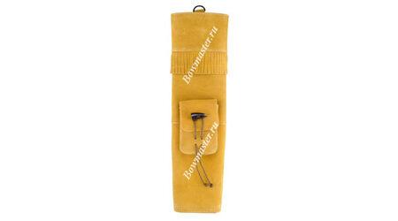 купите Колчан для стрел заплечный желто-коричневый в Москве