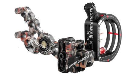 купите Прицел для блочного лука CBE Sniper (RH, camo, реостат, 4 пин; .010-зеленый) в Москве